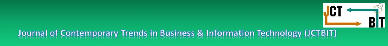 Journal of Contemporary Trends in Business and Information Technology